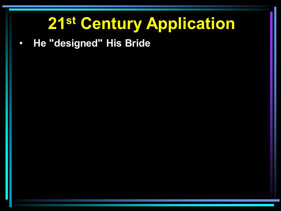 21st Century Application