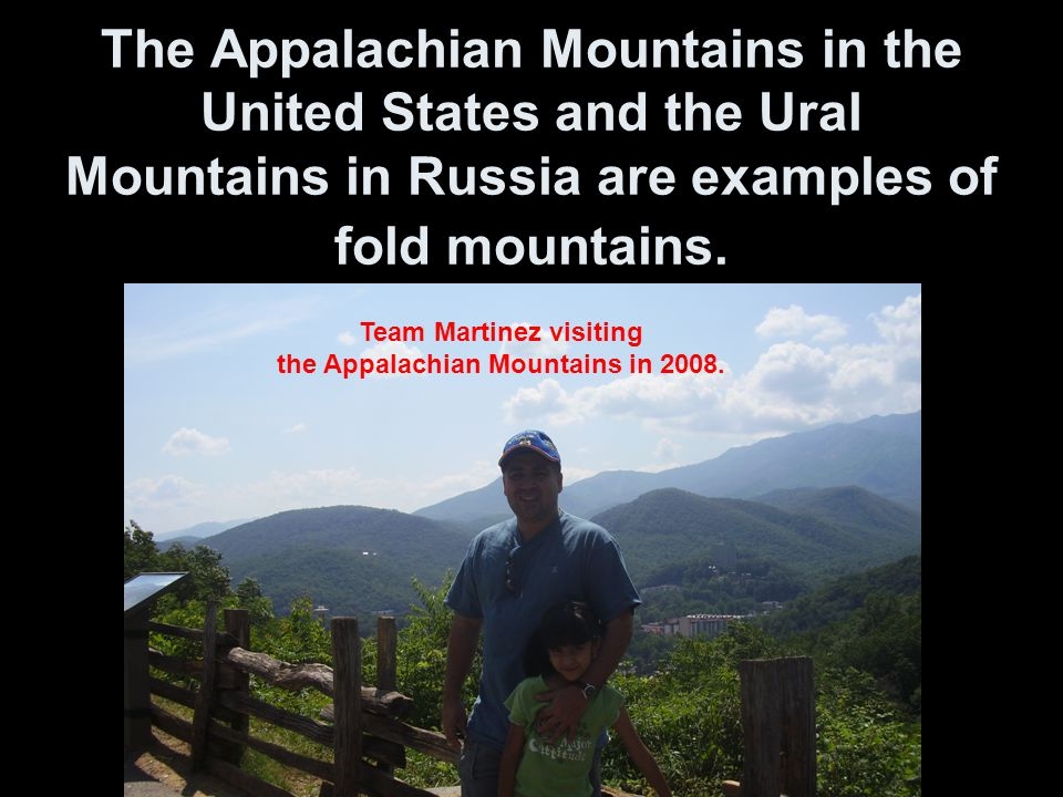 Team Martinez visiting the Appalachian Mountains in 2008.