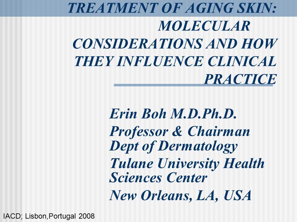 Professor & Chairman Dept of Dermatology
