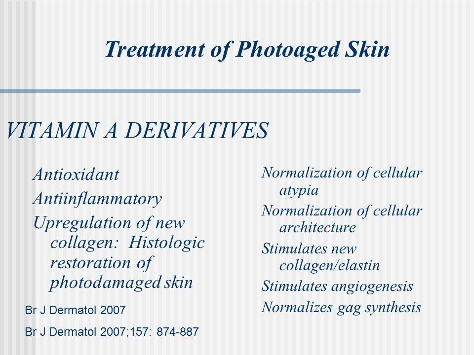 Treatment of Photoaged Skin