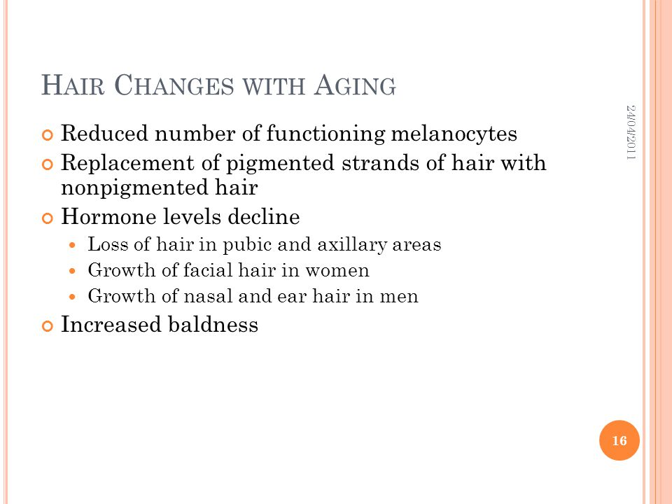 Hair Changes with Aging