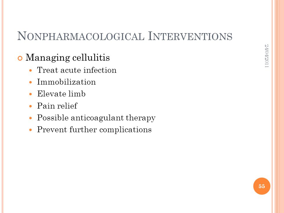 Nonpharmacological Interventions