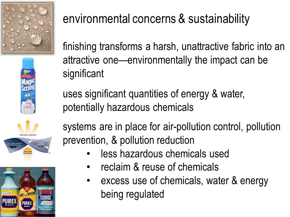 environmental concerns & sustainability