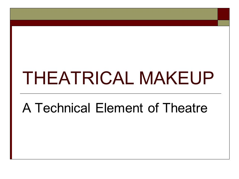 A Technical Element of Theatre