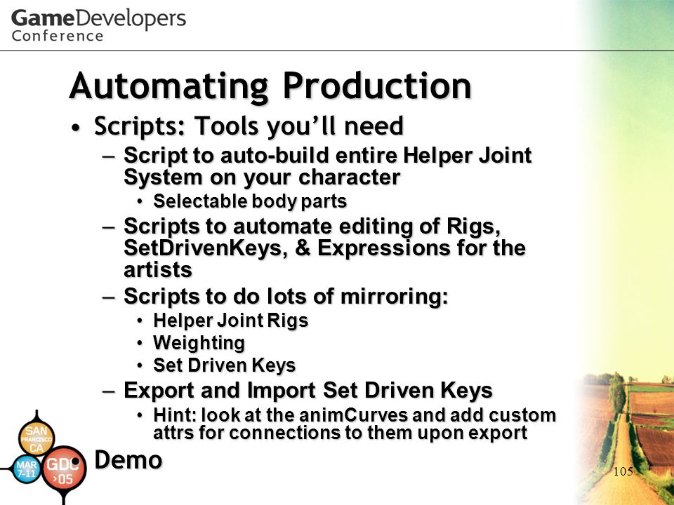 Automating Production