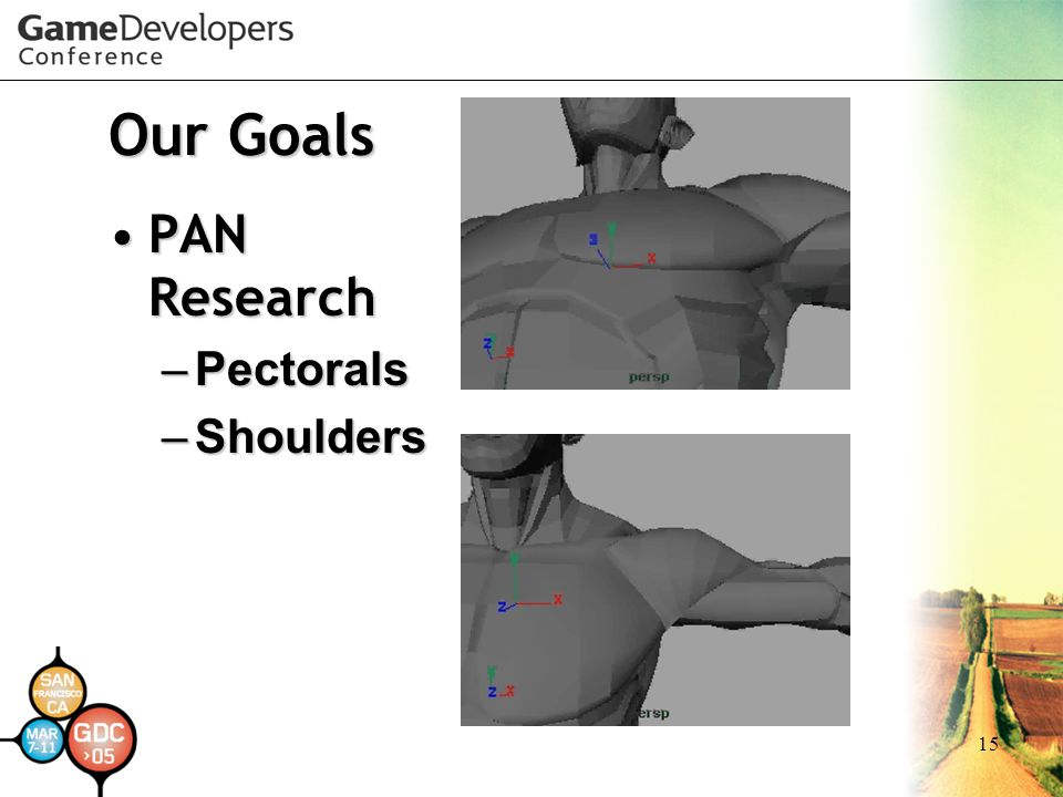 Our Goals PAN Research Pectorals Shoulders