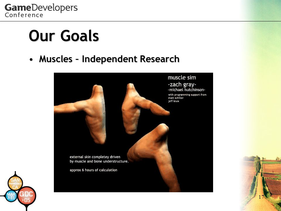 Our Goals Muscles – Independent Research