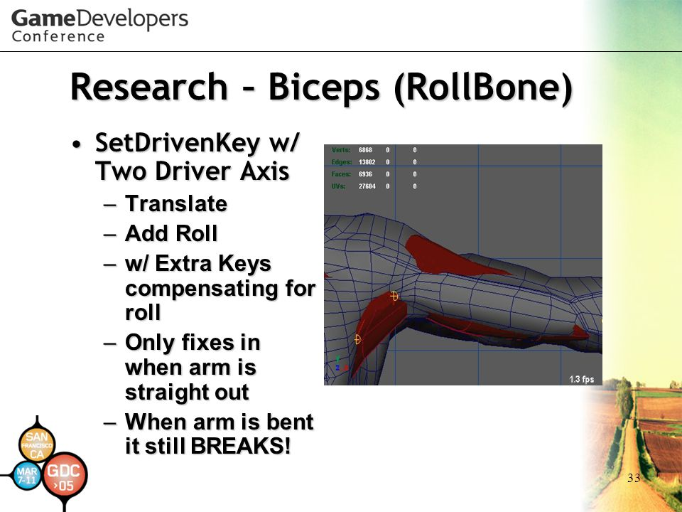 Research – Biceps (RollBone)