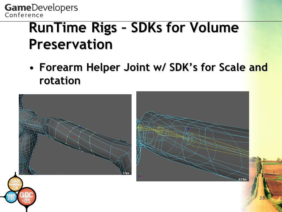 RunTime Rigs – SDKs for Volume Preservation
