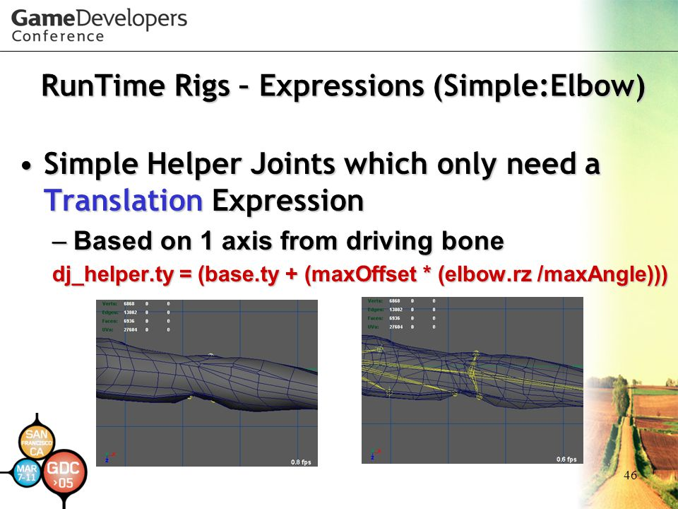 RunTime Rigs – Expressions (Simple:Elbow)