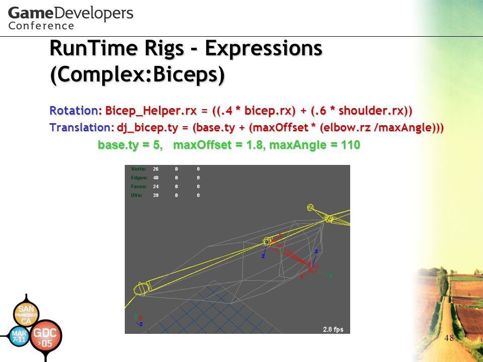 RunTime Rigs - Expressions (Complex:Biceps)