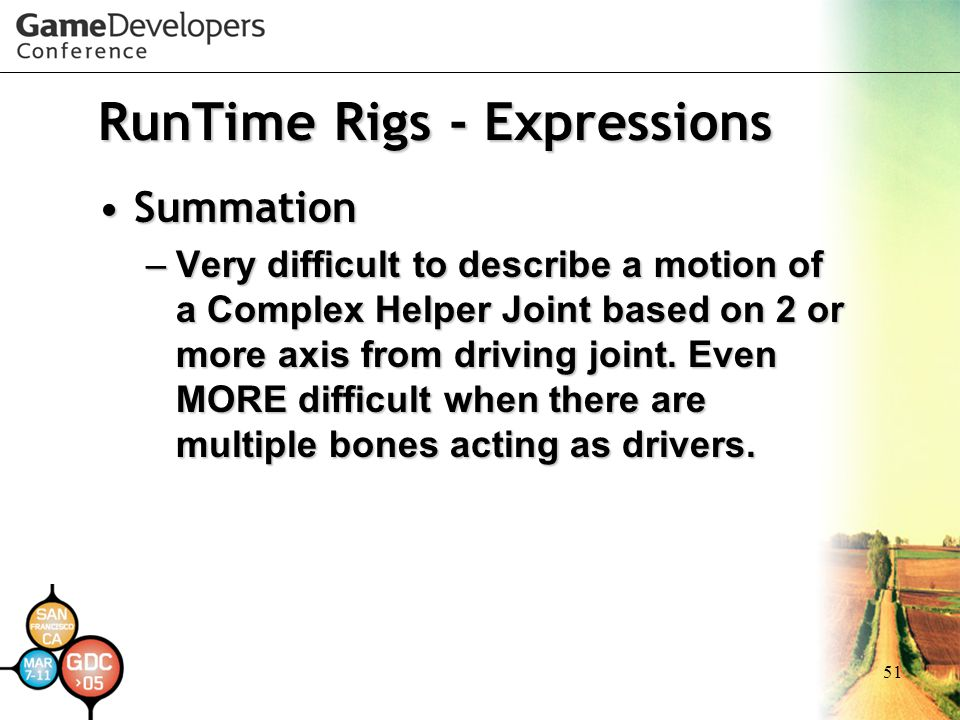 RunTime Rigs - Expressions