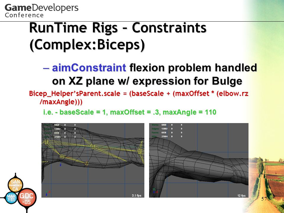 RunTime Rigs – Constraints (Complex:Biceps)