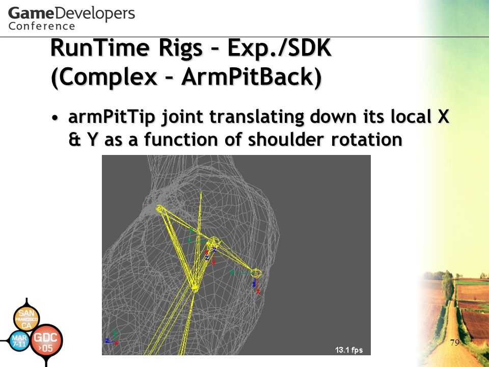 RunTime Rigs – Exp./SDK (Complex – ArmPitBack)
