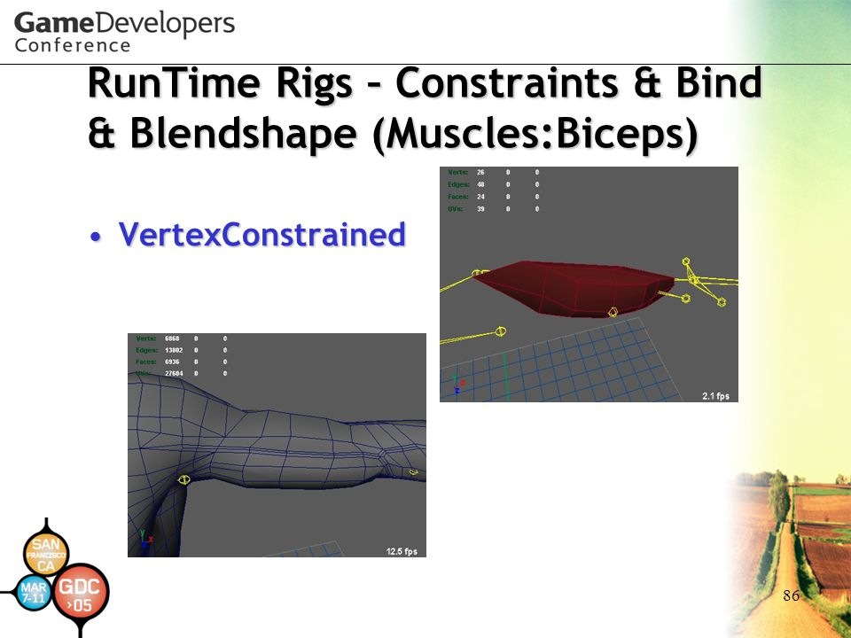 RunTime Rigs – Constraints & Bind & Blendshape (Muscles:Biceps)