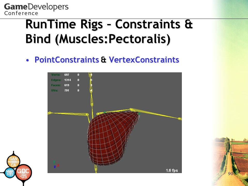 RunTime Rigs – Constraints & Bind (Muscles:Pectoralis)