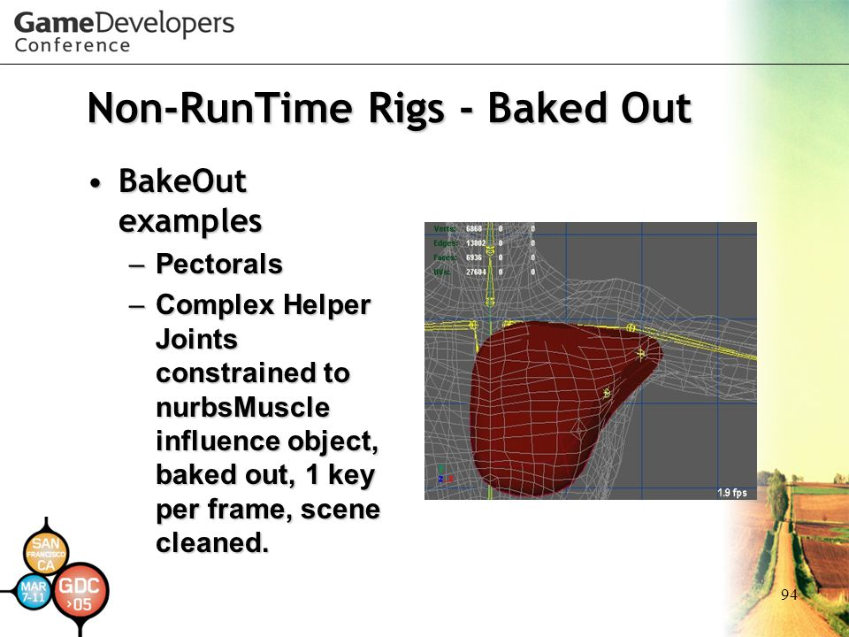 Non-RunTime Rigs - Baked Out