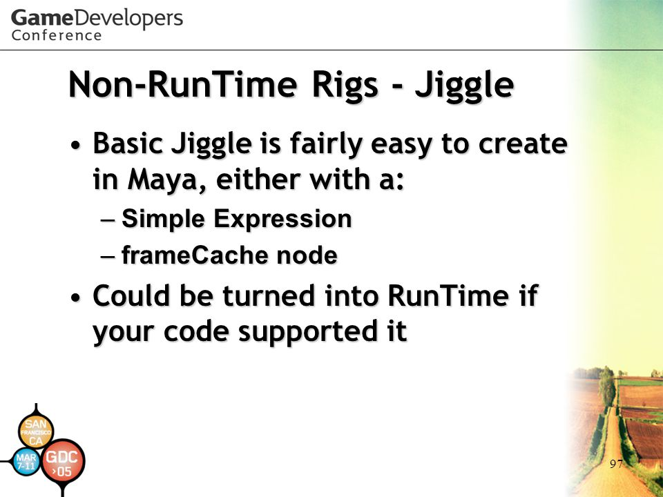 Non-RunTime Rigs - Jiggle