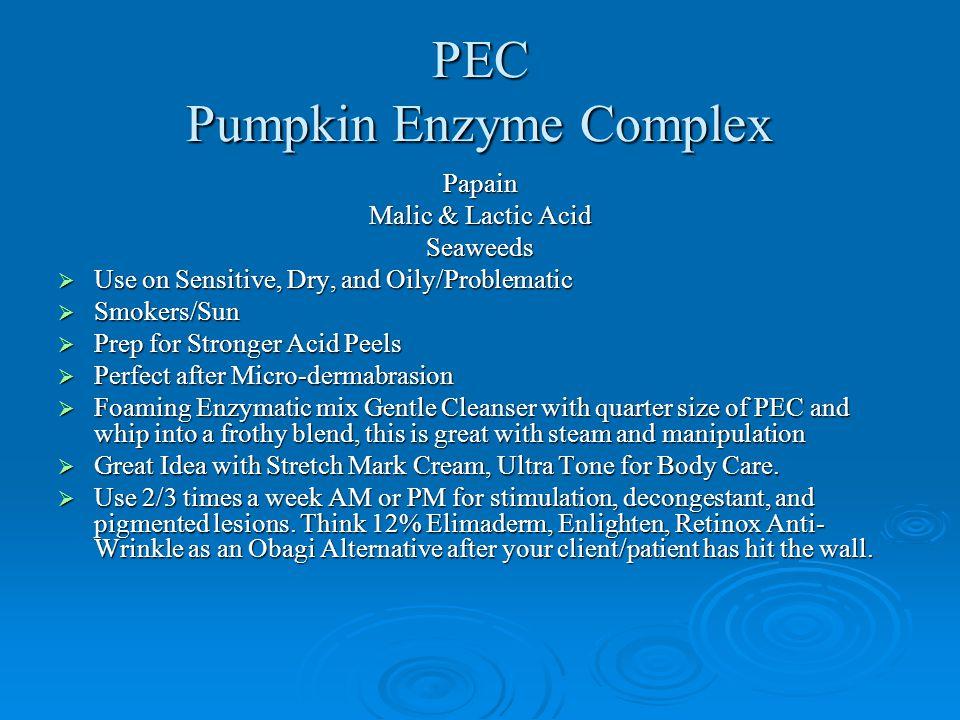 PEC Pumpkin Enzyme Complex