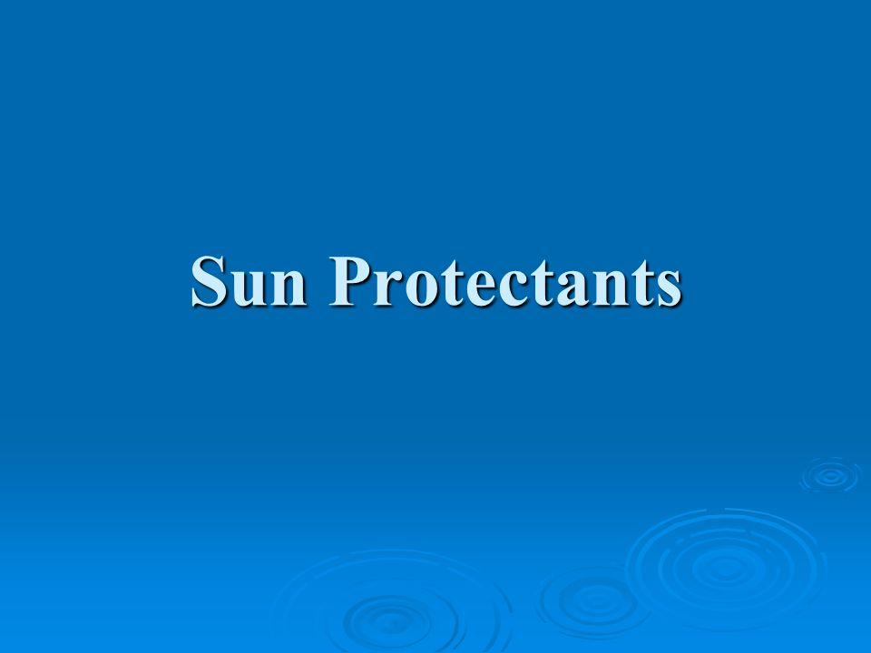 Sun Protectants