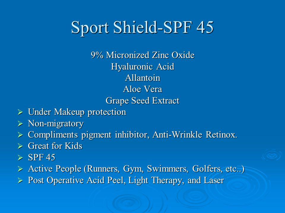 9% Micronized Zinc Oxide