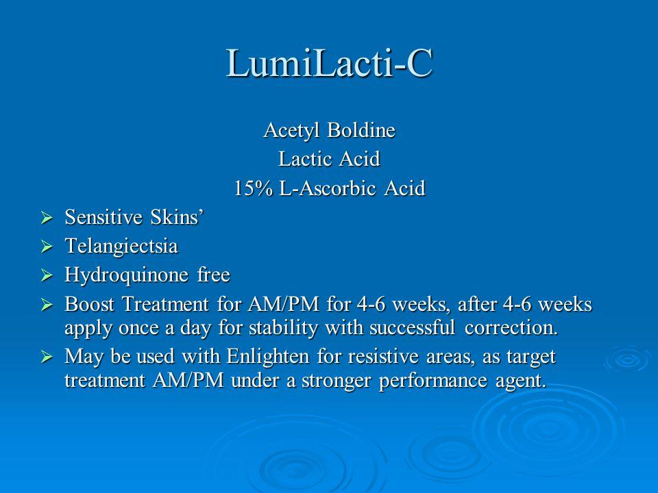 LumiLacti-C Acetyl Boldine Lactic Acid 15% L-Ascorbic Acid