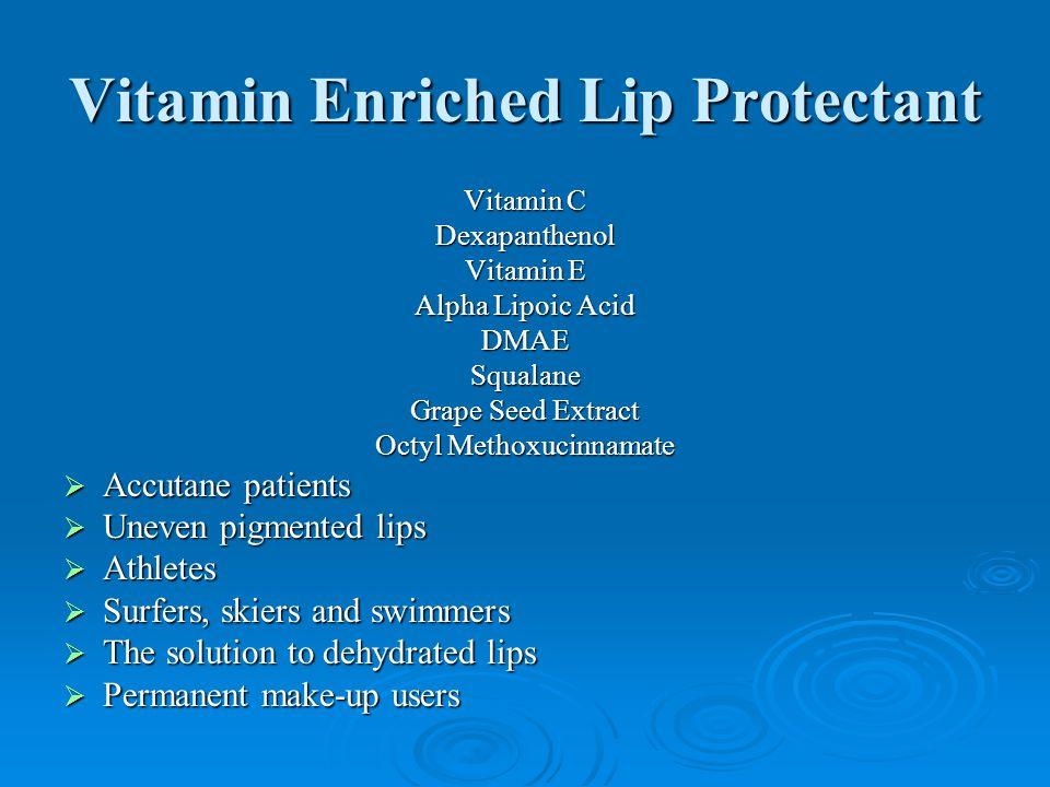 Vitamin Enriched Lip Protectant