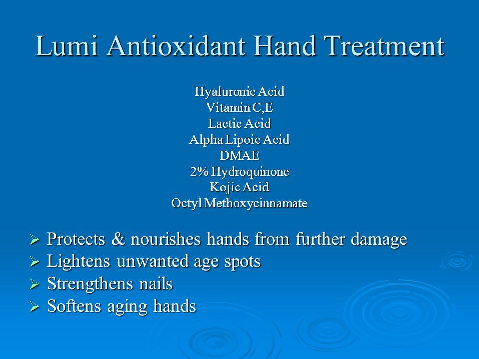 Lumi Antioxidant Hand Treatment