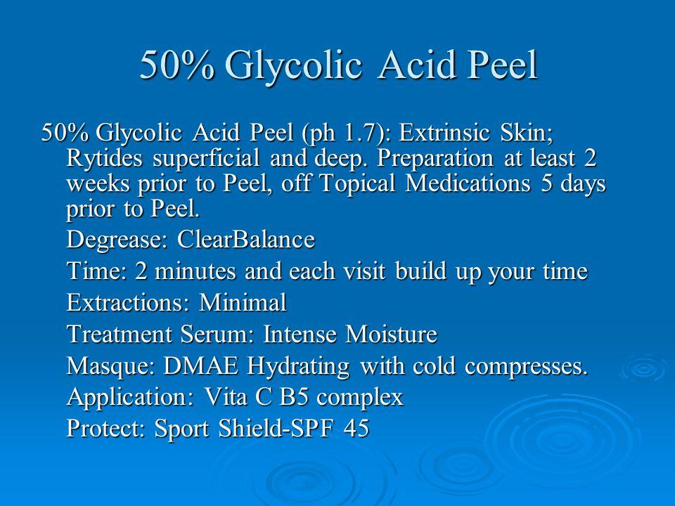 50% Glycolic Acid Peel