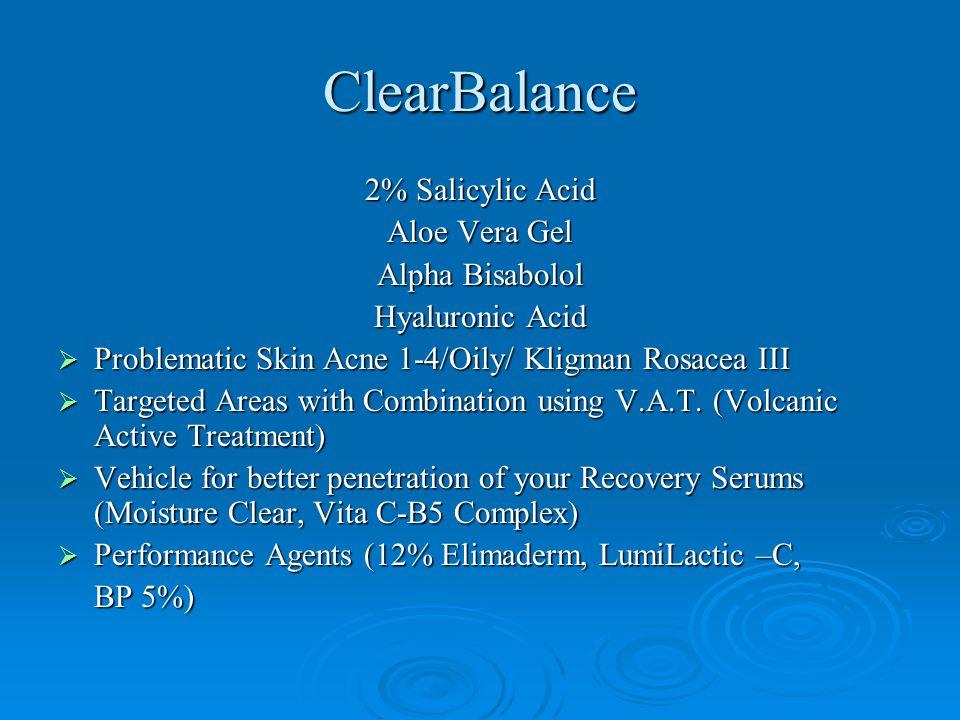 ClearBalance 2% Salicylic Acid Aloe Vera Gel Alpha Bisabolol