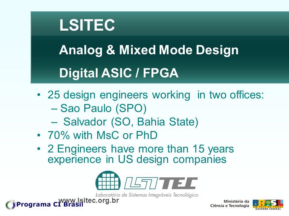 LSITEC Analog & Mixed Mode Design Digital ASIC / FPGA