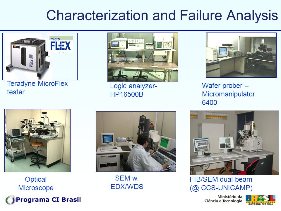 Characterization and Failure Analysis