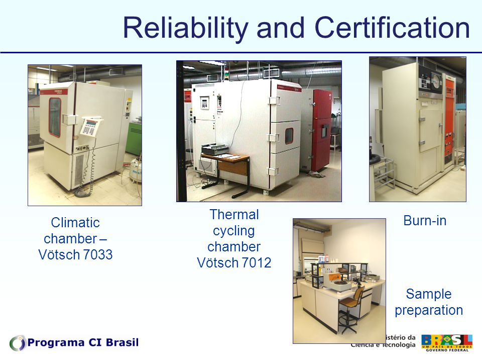 Reliability and Certification