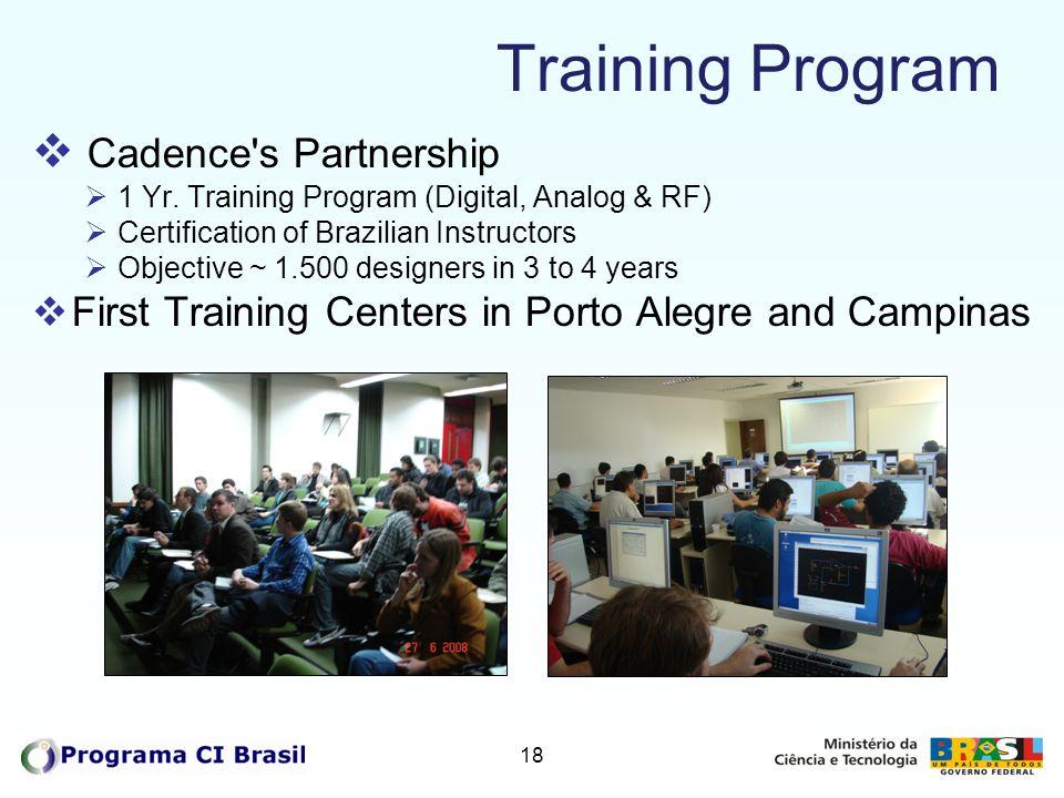 Training Program Cadence s Partnership