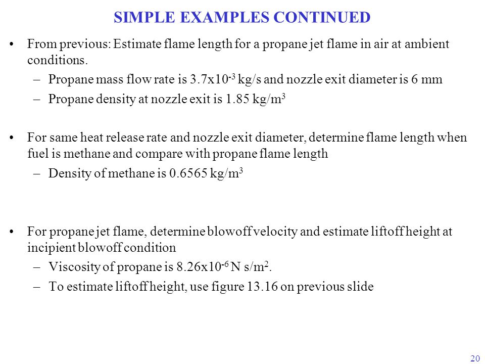 SIMPLE EXAMPLES CONTINUED