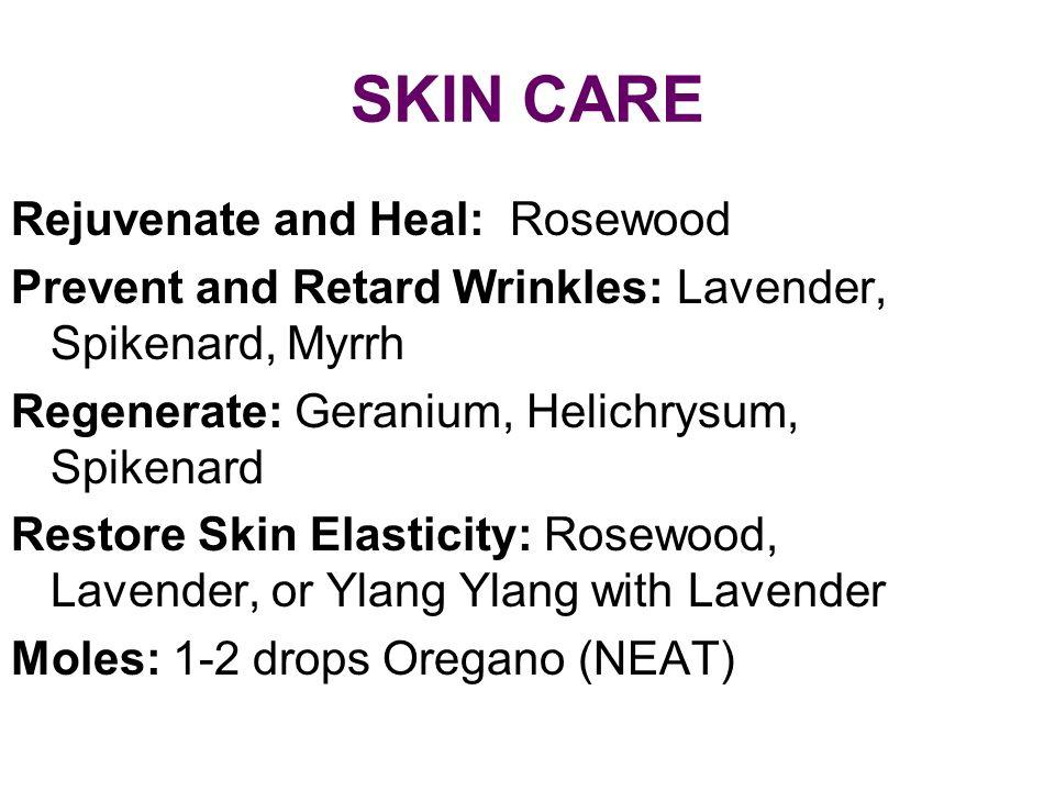 SKIN CARE Rejuvenate and Heal: Rosewood