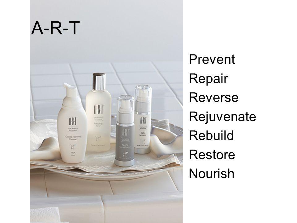 A-R-T Prevent Repair Reverse Rejuvenate Rebuild Restore Nourish