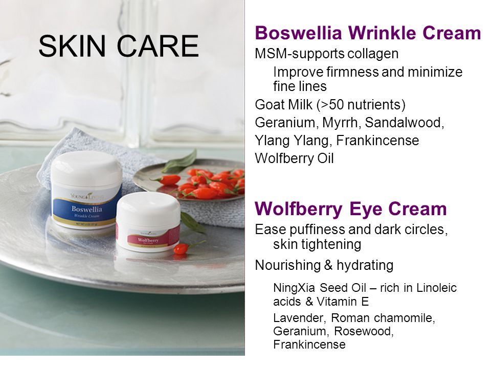 SKIN CARE Boswellia Wrinkle Cream Wolfberry Eye Cream