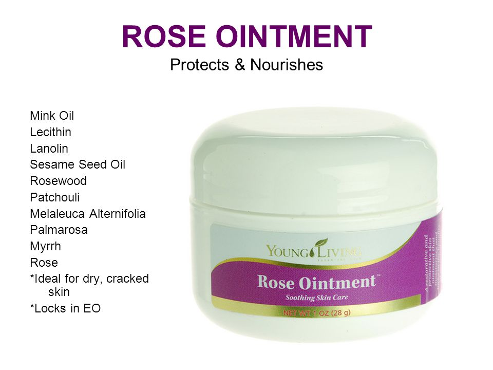 ROSE OINTMENT Protects & Nourishes