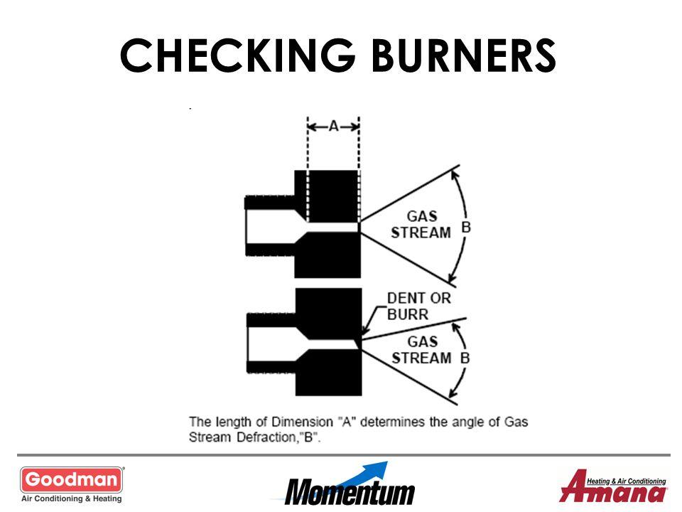 CHECKING BURNERS