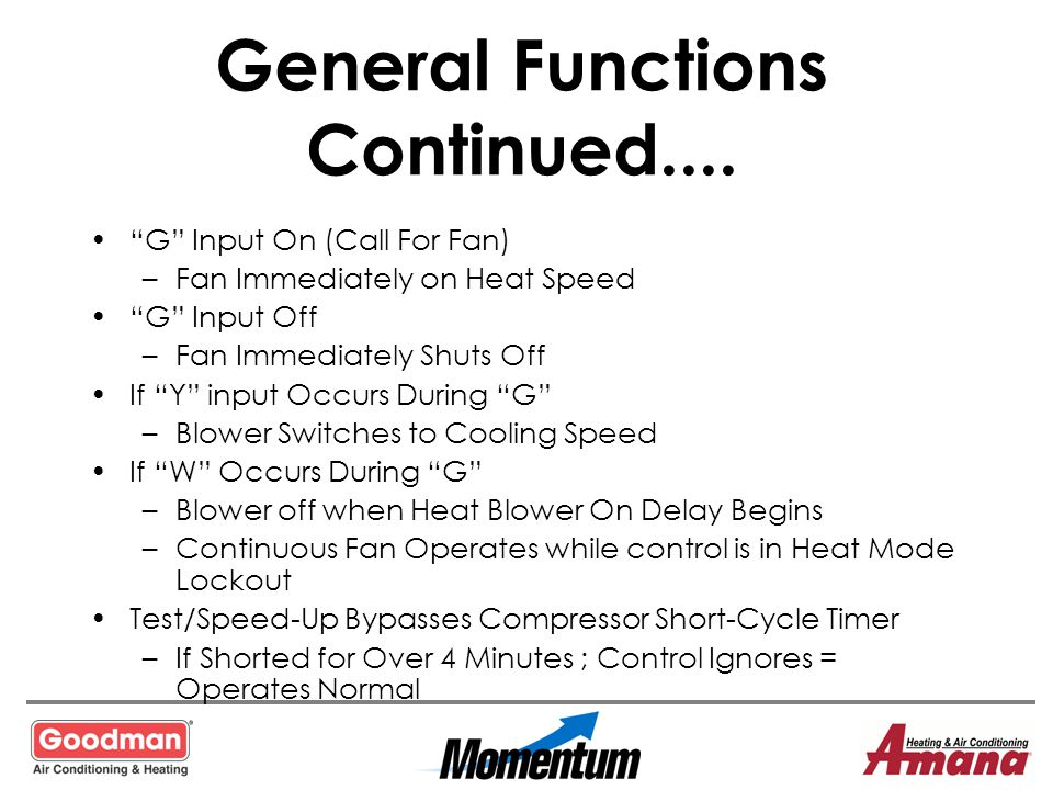 General Functions Continued....