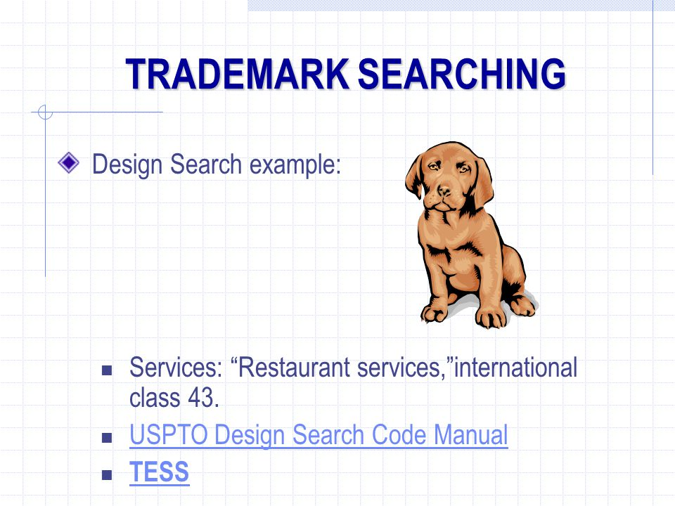 TRADEMARK SEARCHING Design Search example: