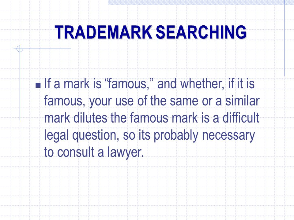 TRADEMARK SEARCHING
