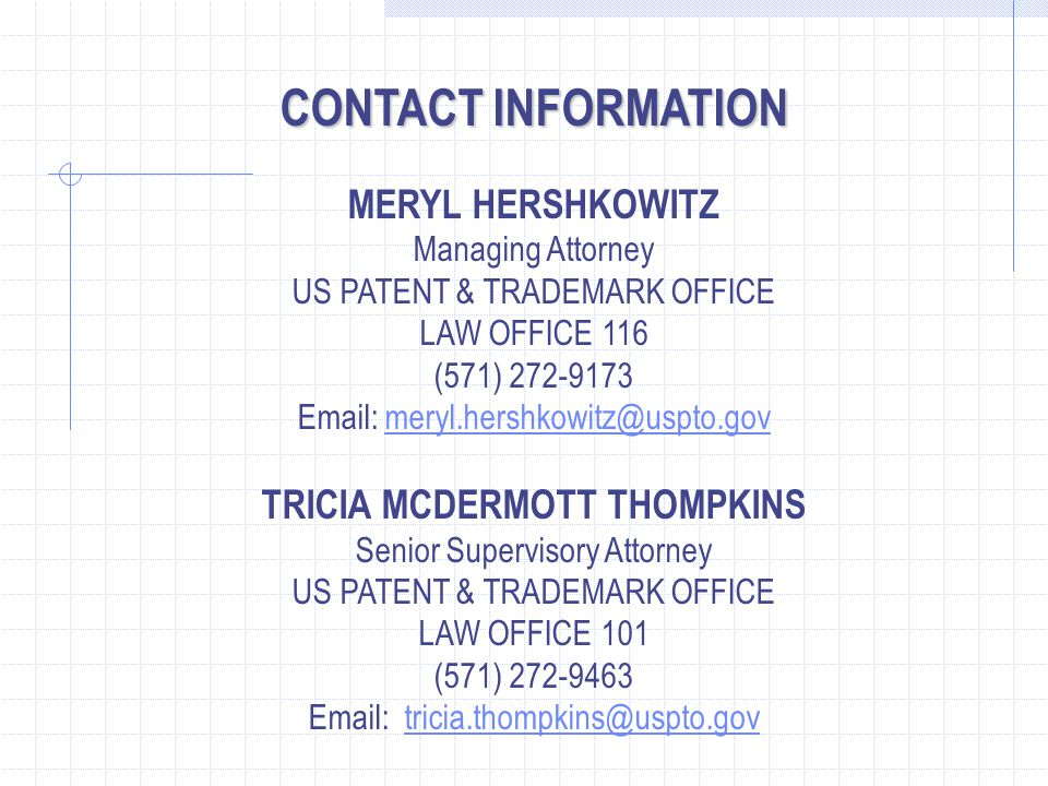 TRICIA MCDERMOTT THOMPKINS