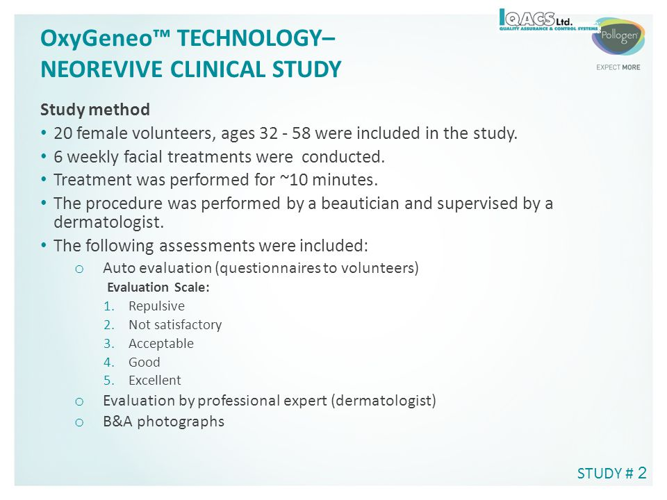 OxyGeneo™ TECHNOLOGY– NEOREVIVE CLINICAL STUDY