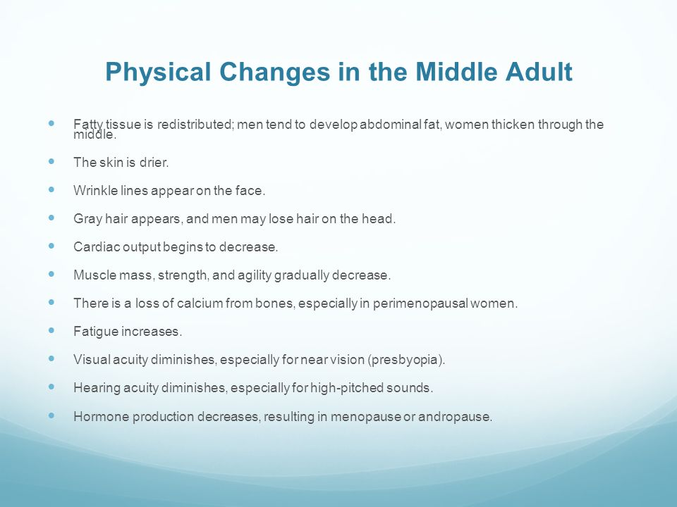 adult and physical changes Young people undergo many different changes as they go through adolescence and increasingly take on adult roles and responsibilities these changes include physical.