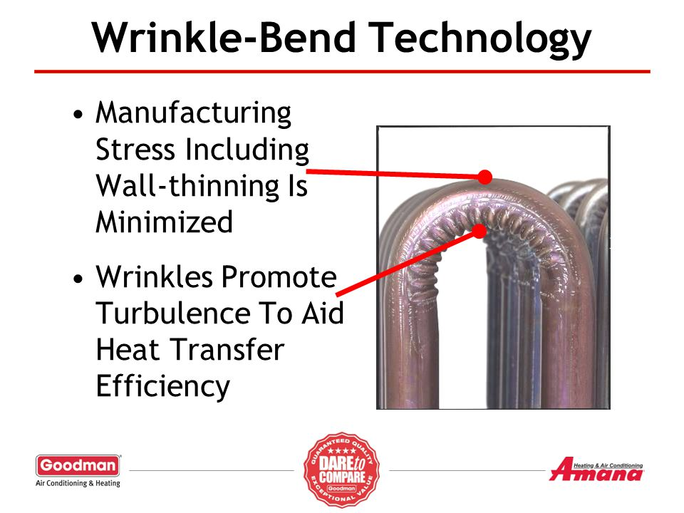 Wrinkle-Bend Technology