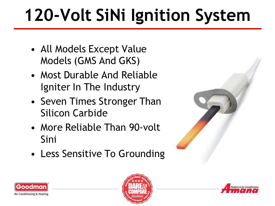 120-Volt SiNi Ignition System