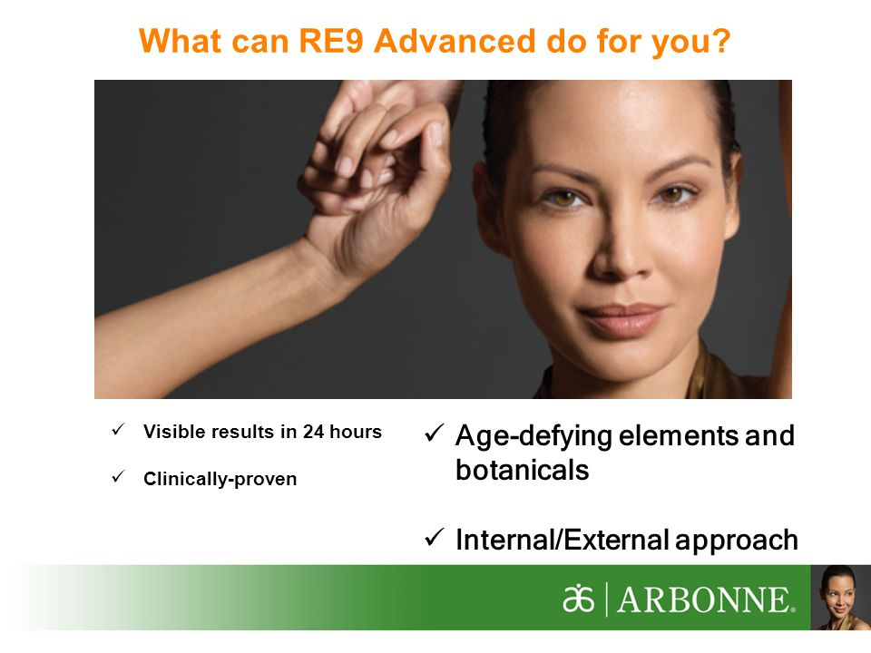 What can RE9 Advanced do for you