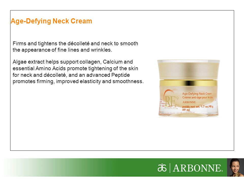 Age-Defying Neck Cream